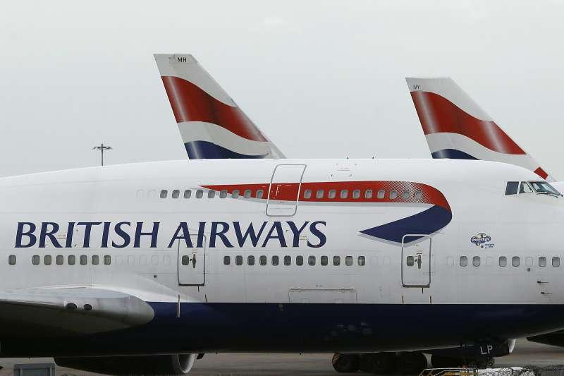 英國航空(British Airways)(AP,資料照)