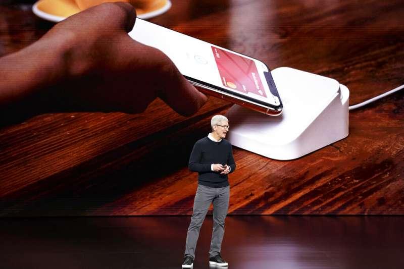 蘋果跨足信用卡市場,推出Apple Card。(美聯社)