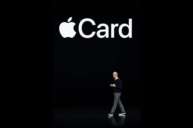 蘋果撈過界,推出全新概念的信用卡Apple Card。(美聯社)