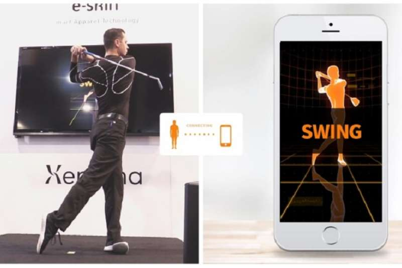 20190326-日本研發的E-Skin,穿著就可以打電動。(E-Skin官網)