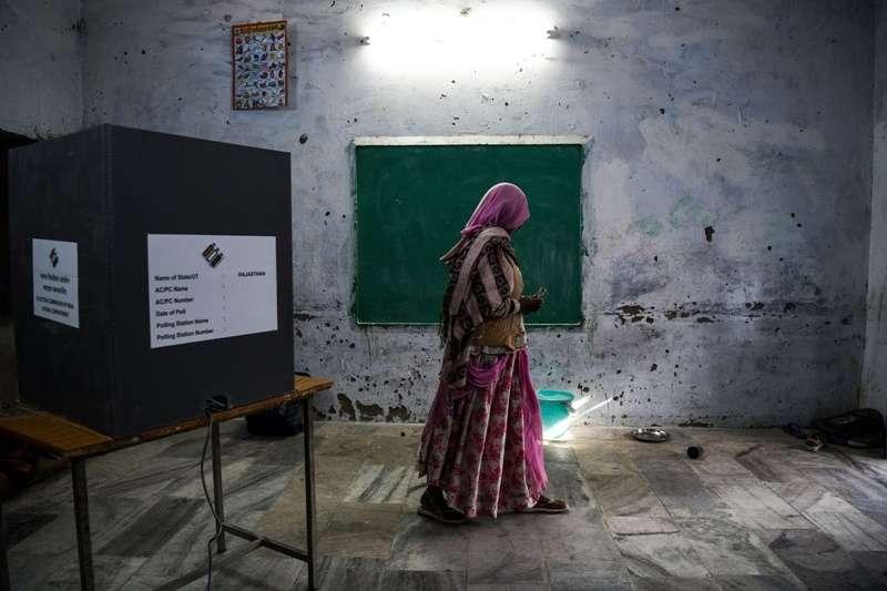2019年印度人民院地大選,仍有約 2,100 萬名女性被剝奪投票權。(圖/*CUP)