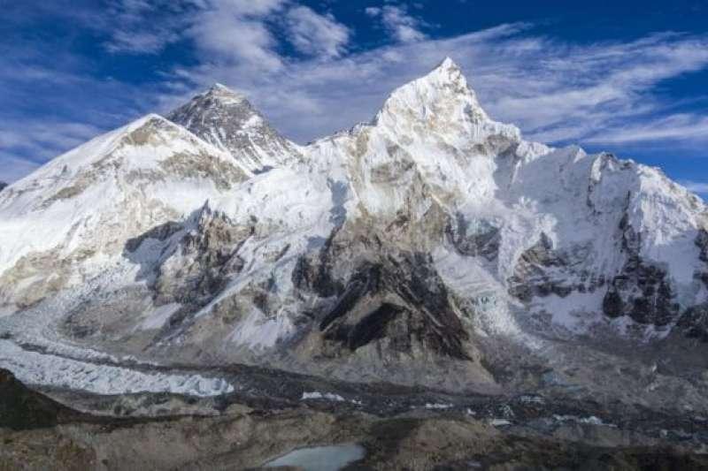 暴露出的屍體大多集中在昆布冰川。(BBC中文網)