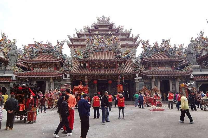 台灣有哪些財神廟呢?(圖/維基百科)