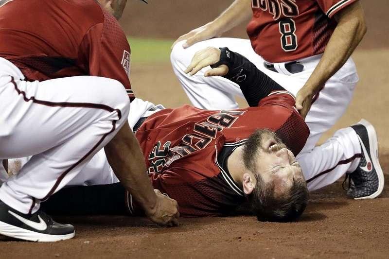 響尾蛇開季外野手受重傷,例行賽未開打就宣布賽季報銷。 (美聯社)