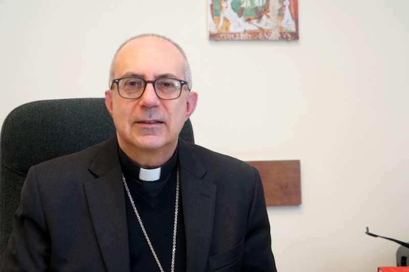 羅馬教區輔理主教如札主教(曾廣儀攝)