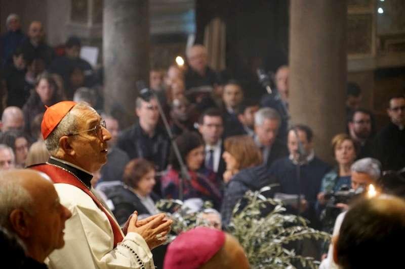 羅馬代理主教德·多那提斯樞機 (曾廣儀攝)