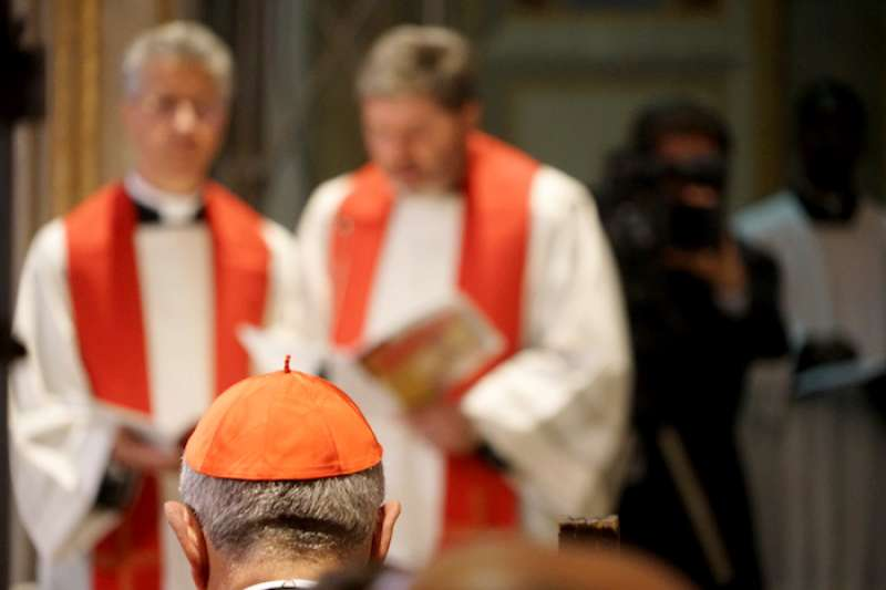 羅馬教區的「代理主教」樞機(曾廣儀攝)