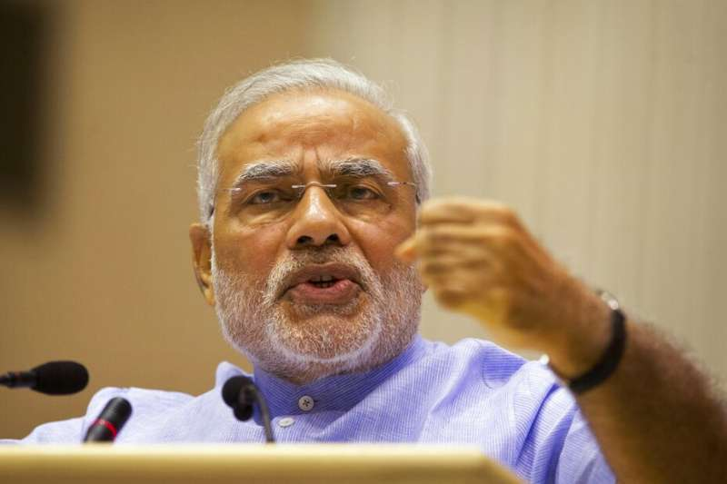 印度總理莫迪。(AP)