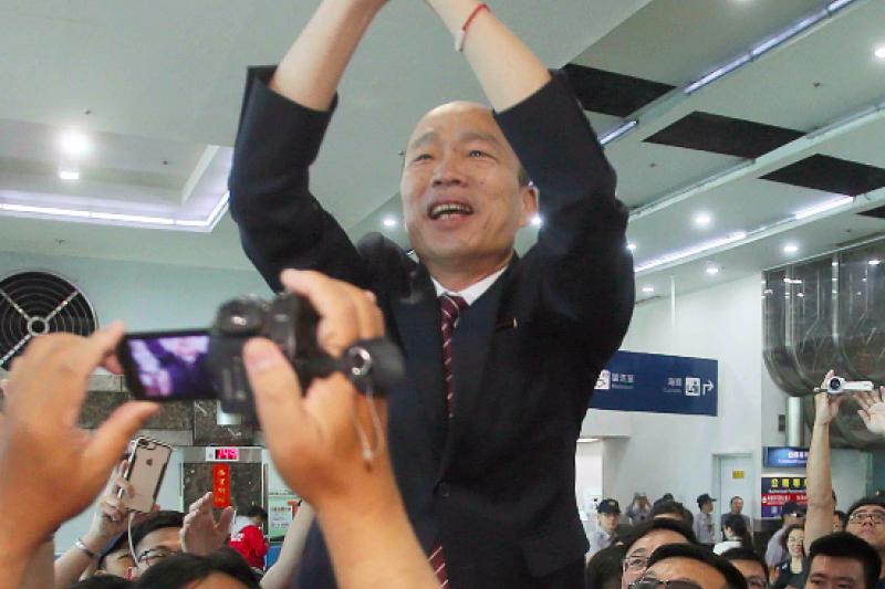 國民黨若只靠高雄市長韓國瑜一人,政黨好感度不可能提升。(高雄市政府提供)