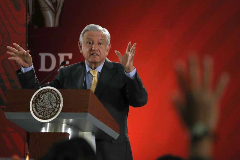 2019年3月26日,墨西哥總統羅培茲.歐布拉多爾公開要求西班牙政府和教宗方濟各為入侵墨西哥的歷史道歉。(美聯社)