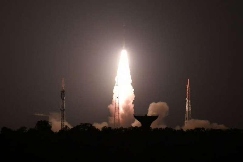 印度2019年3月飛彈摧毀的衛星是2019年1月剛剛發射升空的。(BBC中文網)