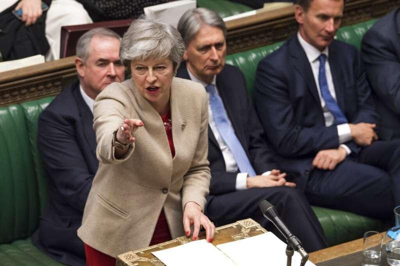 英國國會下議院29日針對首相梅伊的《退出協議》進行表決。(AP)