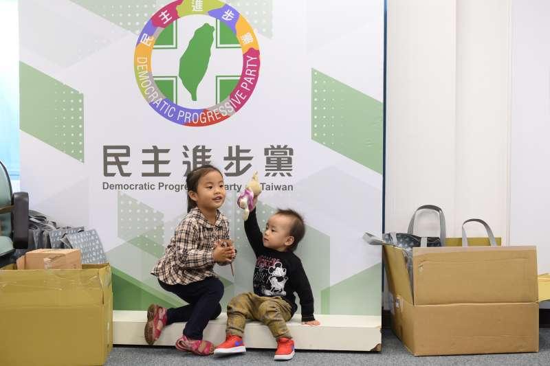 20190330-兒童節前夕,民進黨舉辦「兒童親子日」,開放中央黨部給小朋友參觀。(民進黨中央提供)