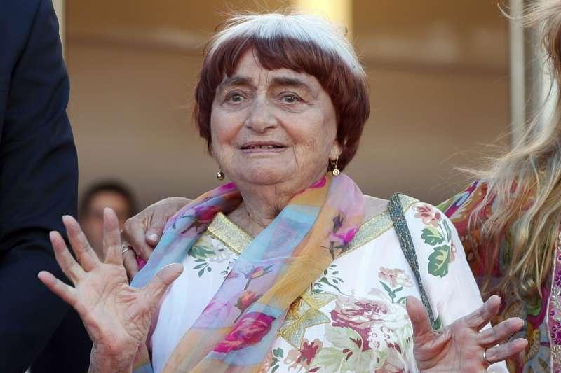 2019年3月29日,法國新浪潮電影之母安妮華達逝世,享壽90歲。(美聯社)