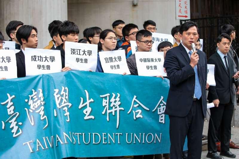 「台灣學生聯合會」今天正式成立!黃國昌:讓社會大眾更了解青年學子的訴求-風傳媒