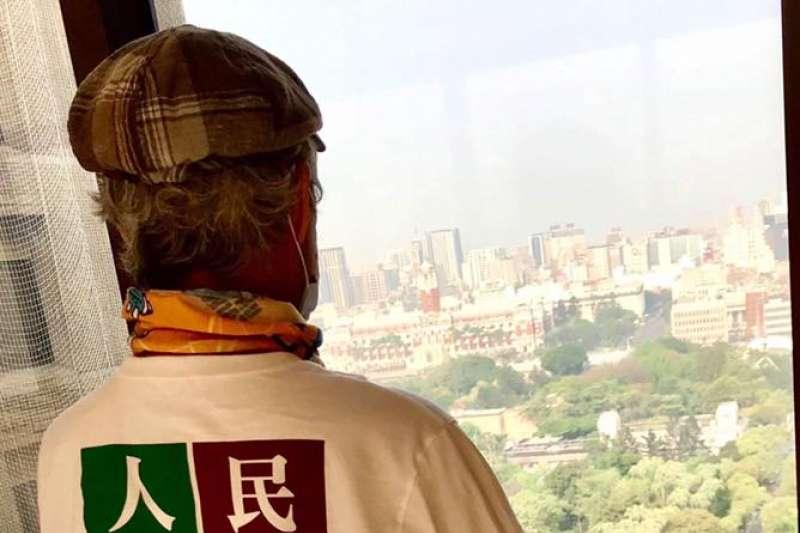 有葉博文創建的建成扶輪社提供金援,讓台權會財務無後顧之憂。(資料照,取自陳耀昌臉書)