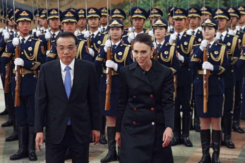 紐西蘭清真寺恐攻之後,總理雅頓(Jacinda Ardern)訪問中國(AP)