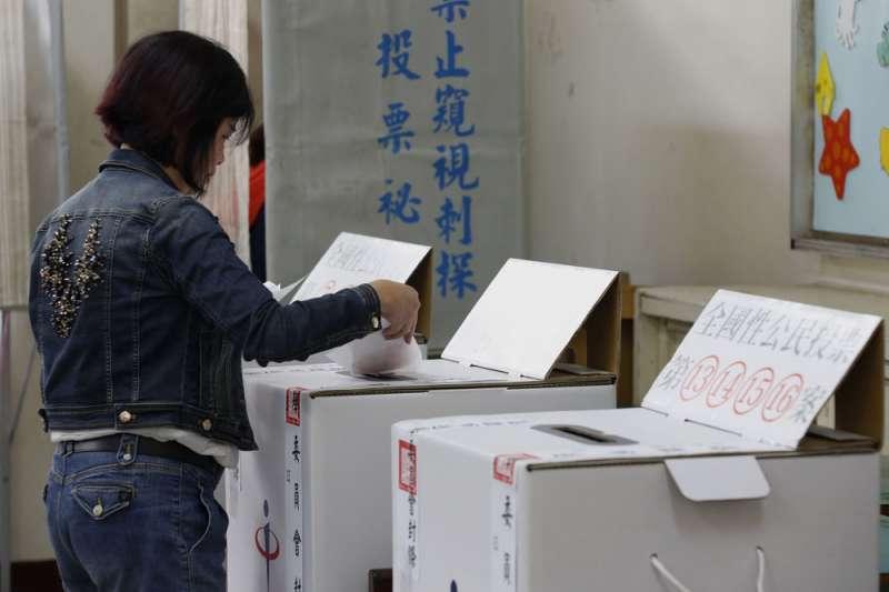 日前三讀通過的《公投法》修正案確認公投與大選脫鉤。(資料照,郭晉瑋攝)