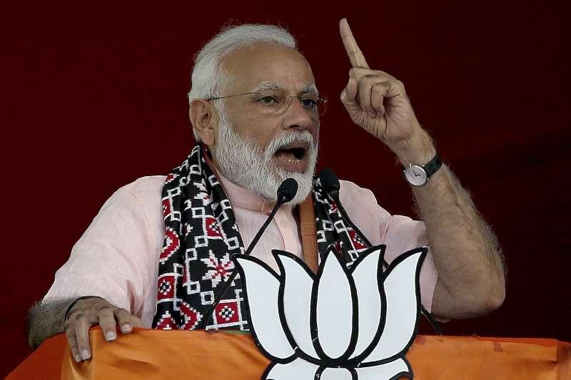 印度大選:人民黨黨魁、總理莫迪(AP)