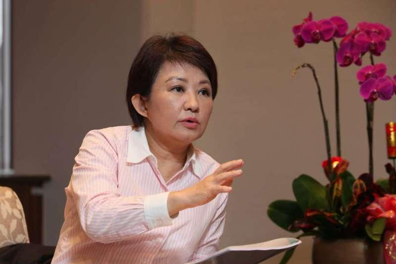 針對台中火力發電廠的空汙議題,台中市長盧秀燕說,新官上任不只三把火。(資料照,新新聞柯承惠攝)