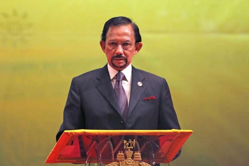 汶萊蘇丹博爾基亞堅持反同嚴刑新法上路(AP)