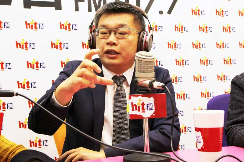 立法院副院長蔡其昌3日上午接受《周玉蔻嗆新聞》專訪。(Hit Fm《周玉蔻嗆新聞》製作單位提供)