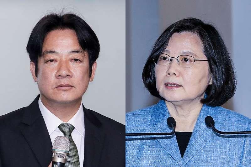 20190403-SMG0034-E01e-蔡英文(柯承惠) vs 賴清德(柯承惠)