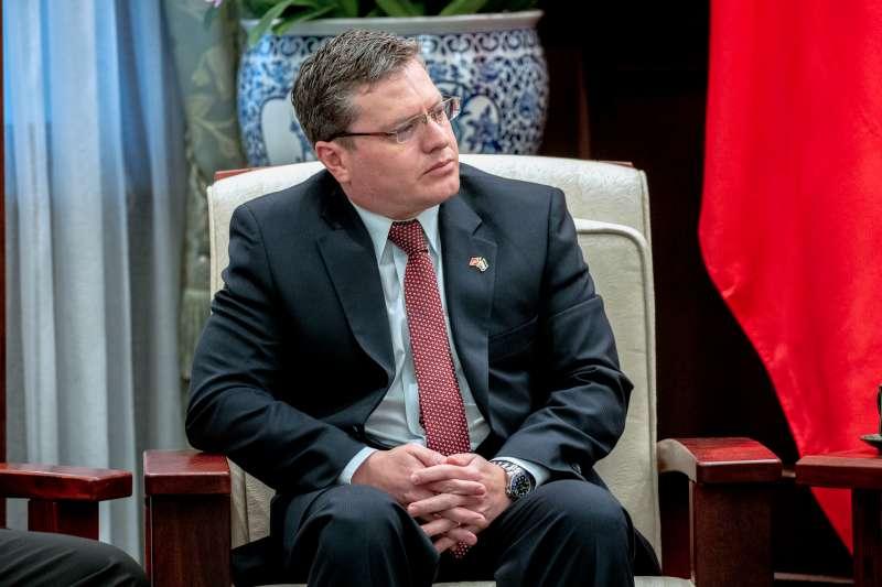宏都拉斯駐台大使謝拉(Rafael Fernando Sierra)即將離任前往美國大使館任職,受訪時感性表示「我永遠會記得的就是台灣人民對我的愛」。(總統府提供)