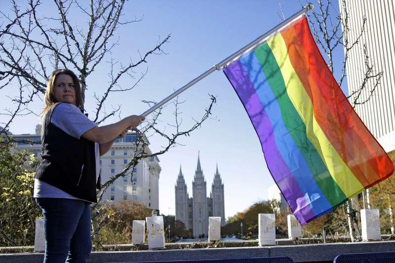 美國俗稱「摩門教」的「耶穌基督後期聖徒教會」,其LGBT政策備受各方矚目(AP)