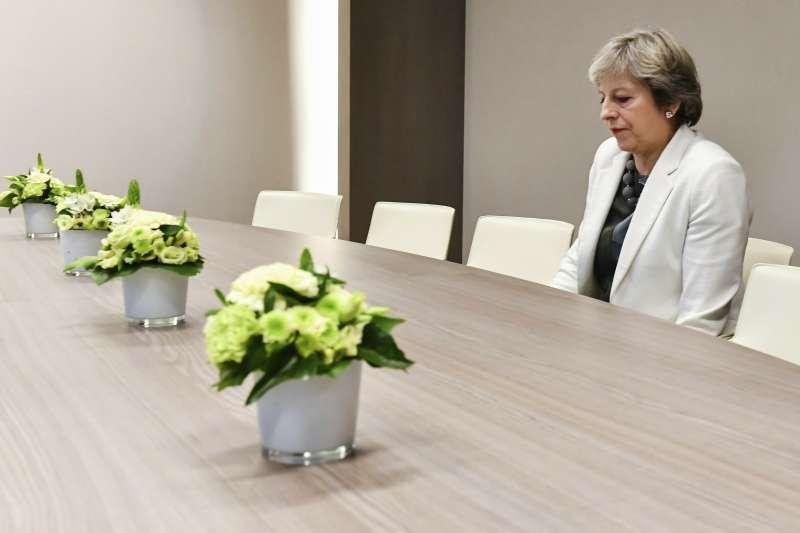 2019年4月,英國首相梅伊再次要求歐盟展延英國脫歐(Brexit)大限(AP)
