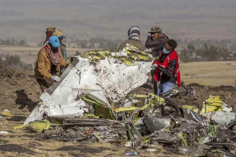 衣索比亞航空波音737 MAX 8空難舉世震驚(AP)