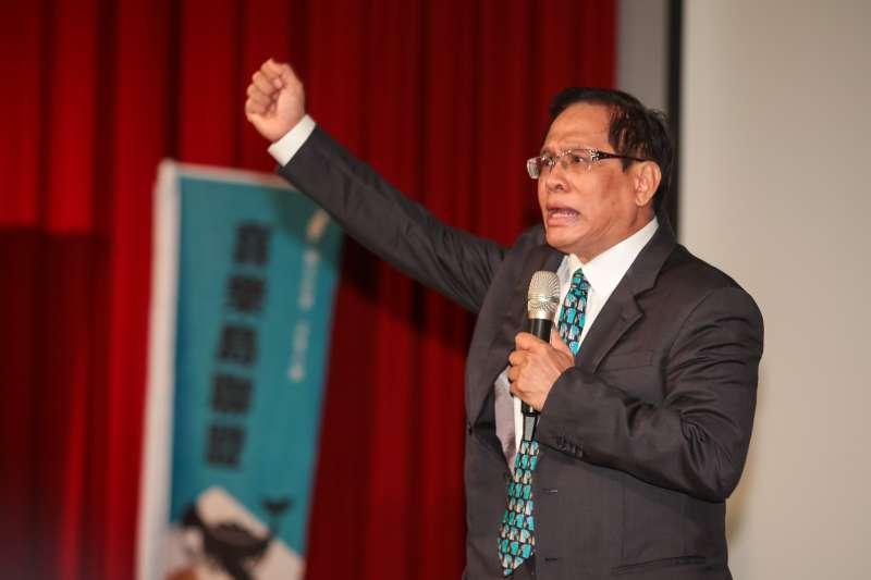 要和民進黨「綠色」區隔!郭倍宏宣布:喜樂島未來代表色是「台灣青」-風傳媒