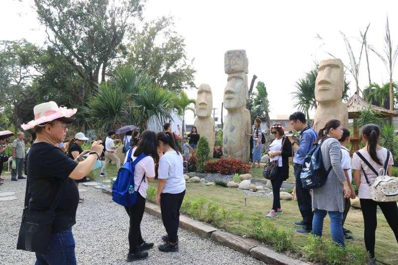 台中觀光加溫,根據《遠見雜誌》刊登Agoda訂房網統計,在春節亞洲旅客最愛旅遊城市中獲得第7名,而台中花博也成為打卡熱點。(台中市政府提供)