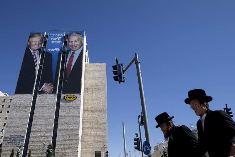 以色列總理納坦雅胡有美國總統川普當靠山(AP)