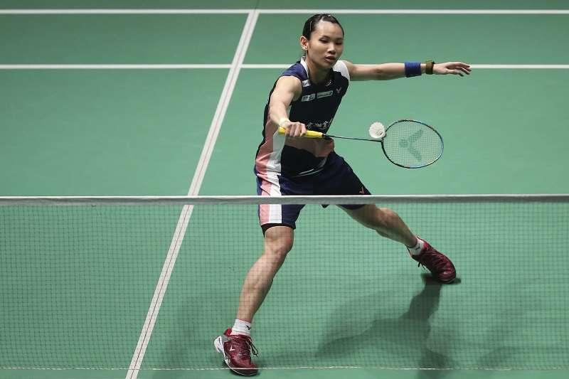 戴資穎在馬來西亞公開賽以直落二擊敗山口茜,完成3連霸。 (美聯社)