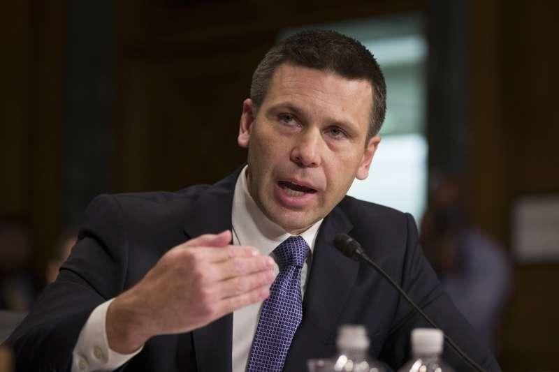 暫代美國國土安全部長的海關與邊境保護局(CBP)局長麥克利南(Kevin McAleenan)(AP)
