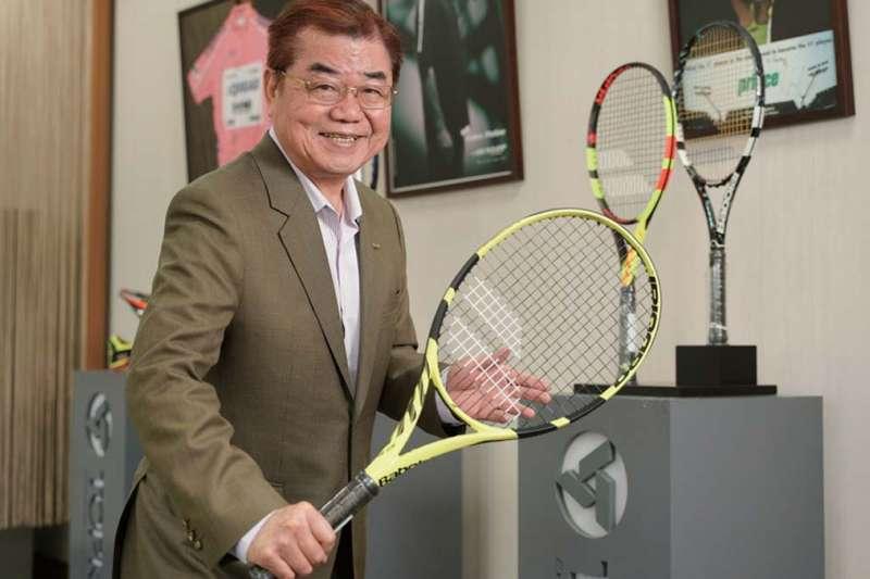 從碳纖維網球拍的世界第一,拓凱董事長沈文振要帶領公司跨入更高階的複合材料領域。(圖/賴永祥攝,哈佛商業評論提供)
