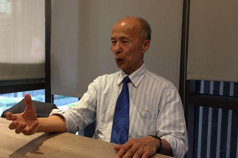 前駐法大使呂慶龍(鍾巧庭攝)