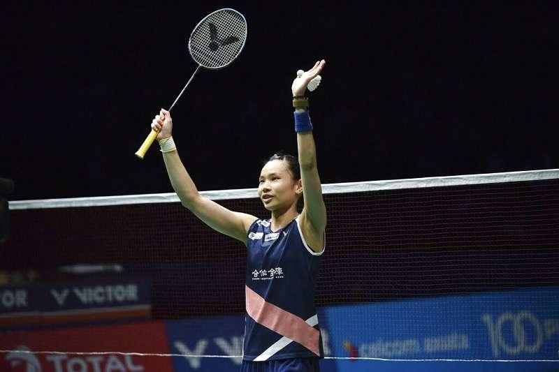 戴資穎能夠制霸女子羽球主要在於增加手腕上的訓練,也透露日本選手最難纏。(美聯社)