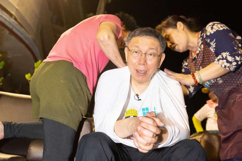2019-04-09 台北市長柯文哲隨大甲媽遶境南下雲林西螺(柯粉俱樂部提供)