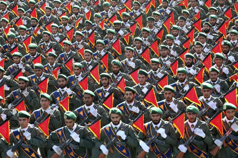 伊朗伊斯蘭革命衛隊(AP)