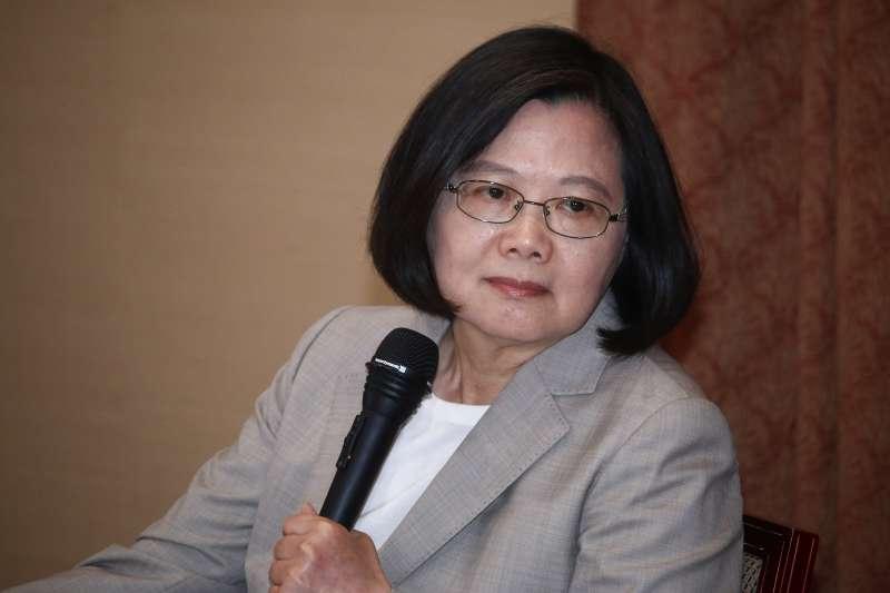 蔡英文再嗆郭台銘:中國式民主,是台灣人吃得下去的飯嗎?-風傳媒