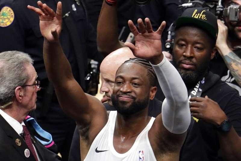 韋德將加入TNT團隊播報NBA的比賽。 (美聯社)