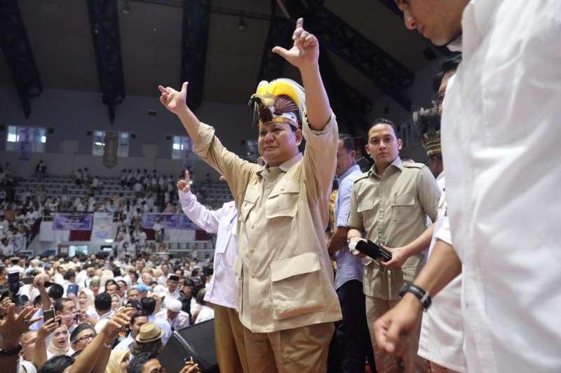 2014年印尼總統候選人波拉博沃(取自Prabowo Subianto臉書)