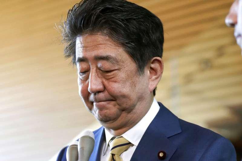 日本首相安倍晉三。(AP)