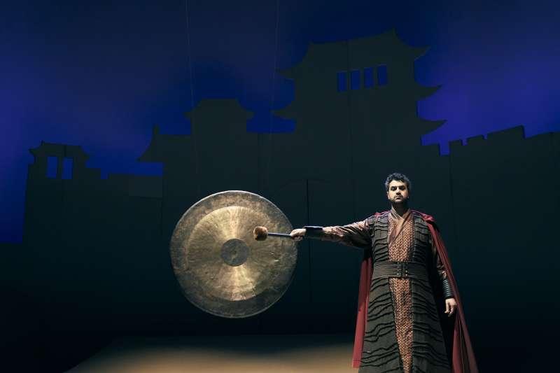 20190410-衛武營專訪-歌劇《杜蘭朵》劇照。(衛武營國家藝術文化中心提供)