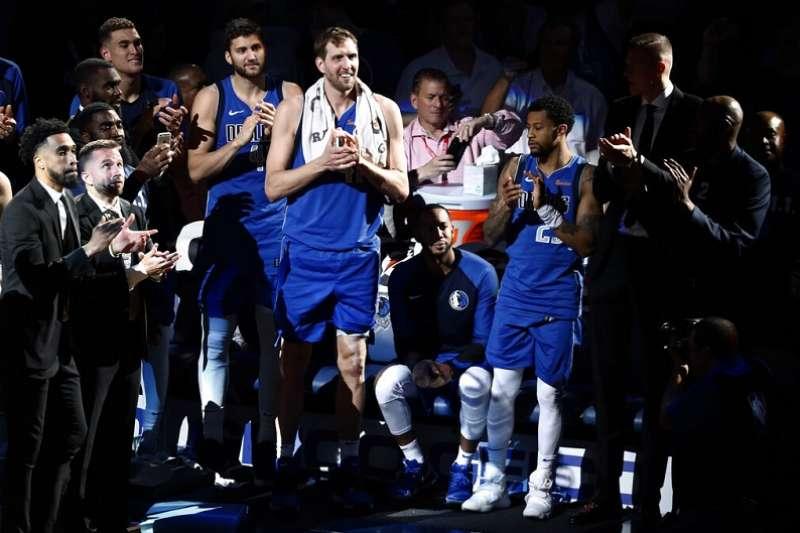 諾威茨基的21年NBA生涯正式畫下句點。 (美聯社)