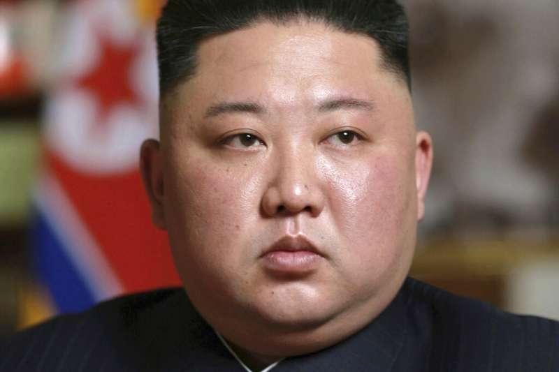 北韓領導人金正恩再次被推舉為國務委員會委員長。(美聯社)