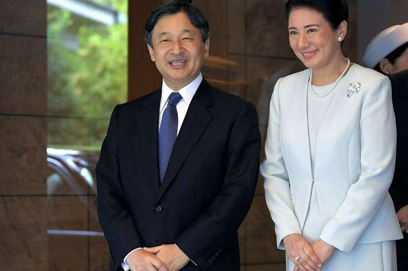 日本德仁皇太子與雅子妃。(AP)