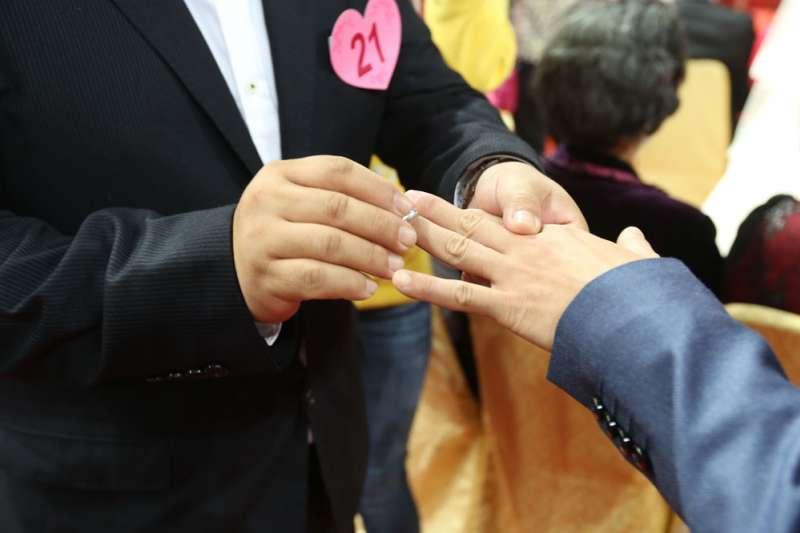即使台灣同志們在5月24日就可適用結婚,跨國同婚伴侶想要成家還是很難。(林瑞慶攝)